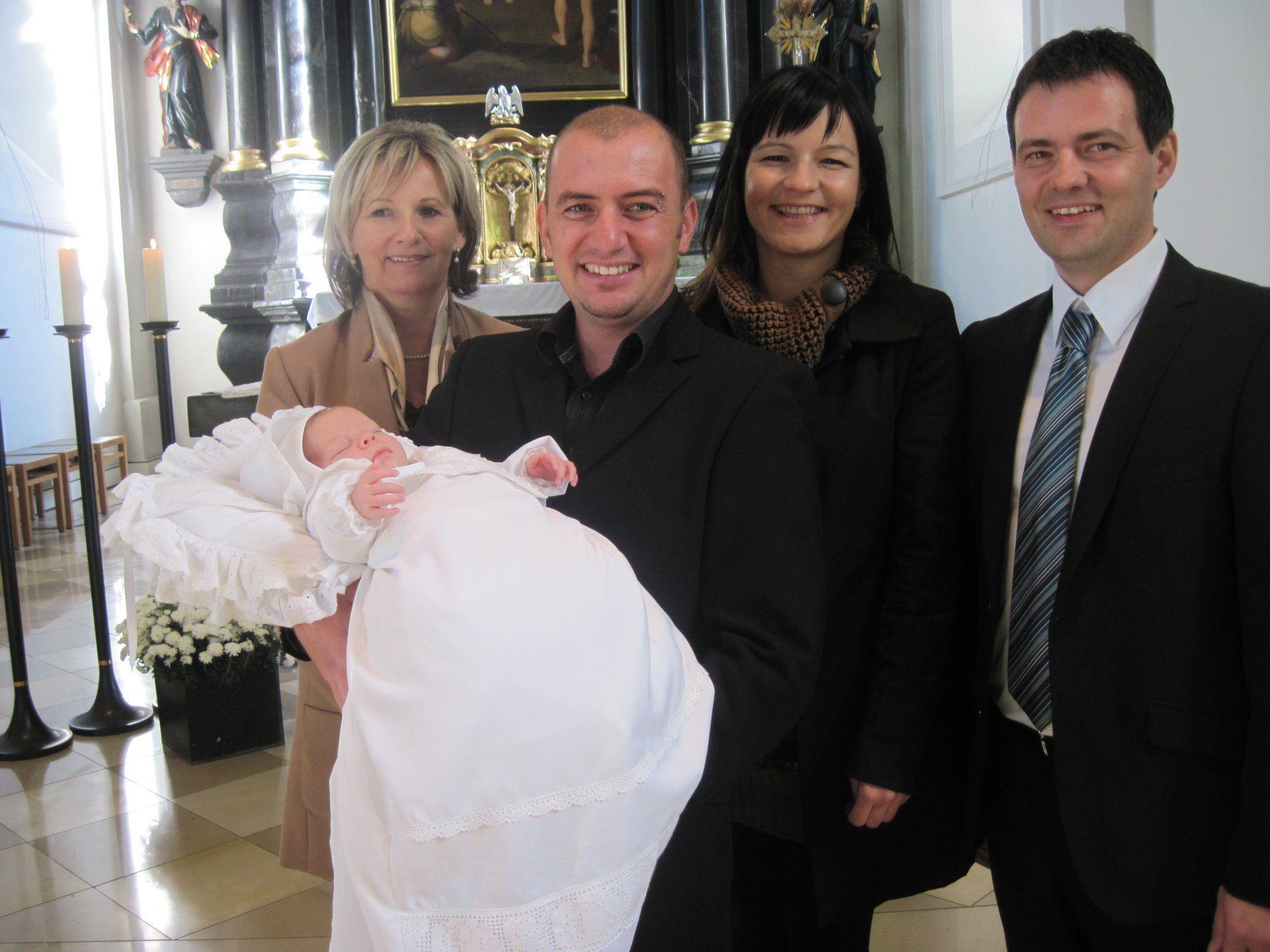 Felix Ammann wurde in der Pfarrkirche getauft