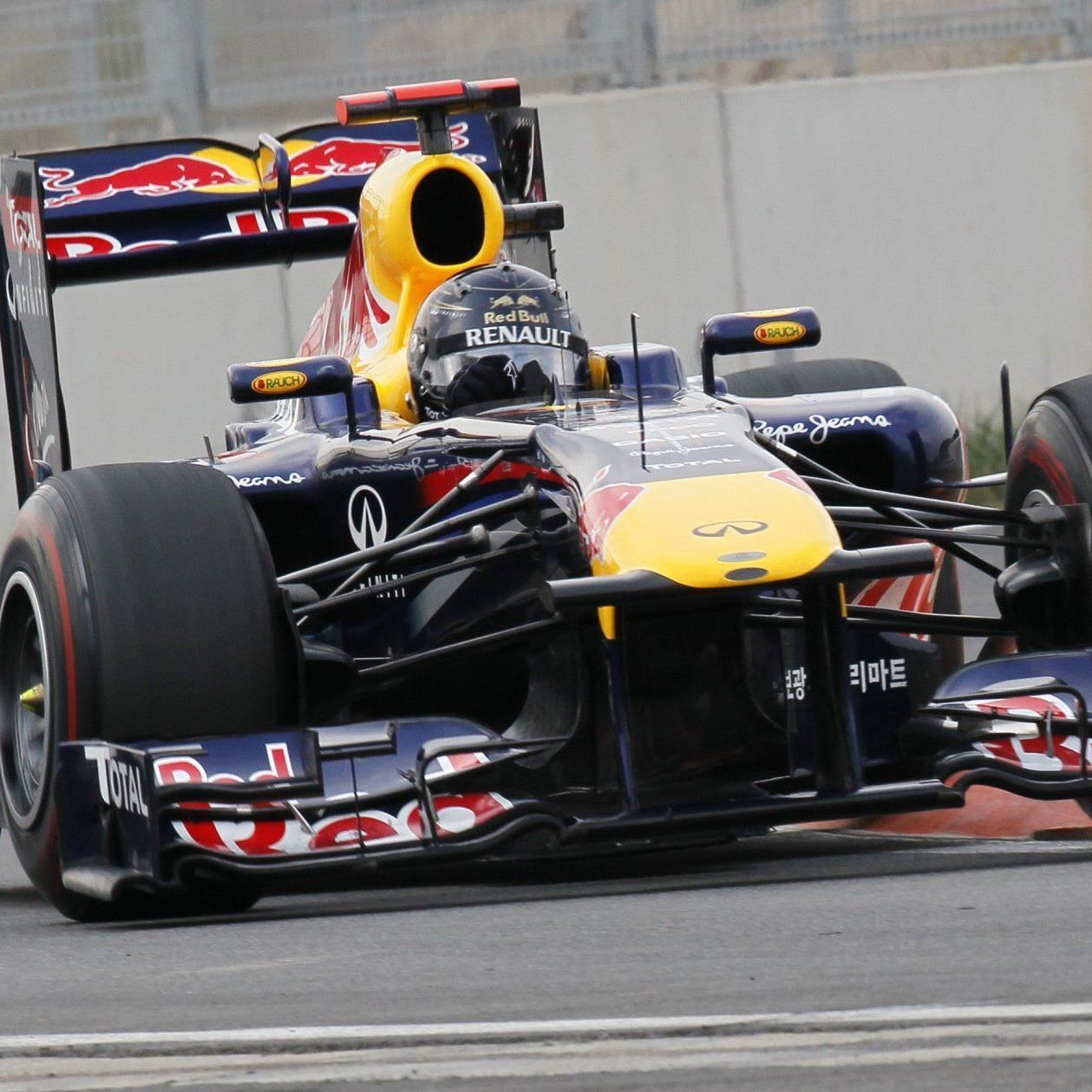 Weltmeister Sebastian Vettel dominierte das Rennen in Südkorea.