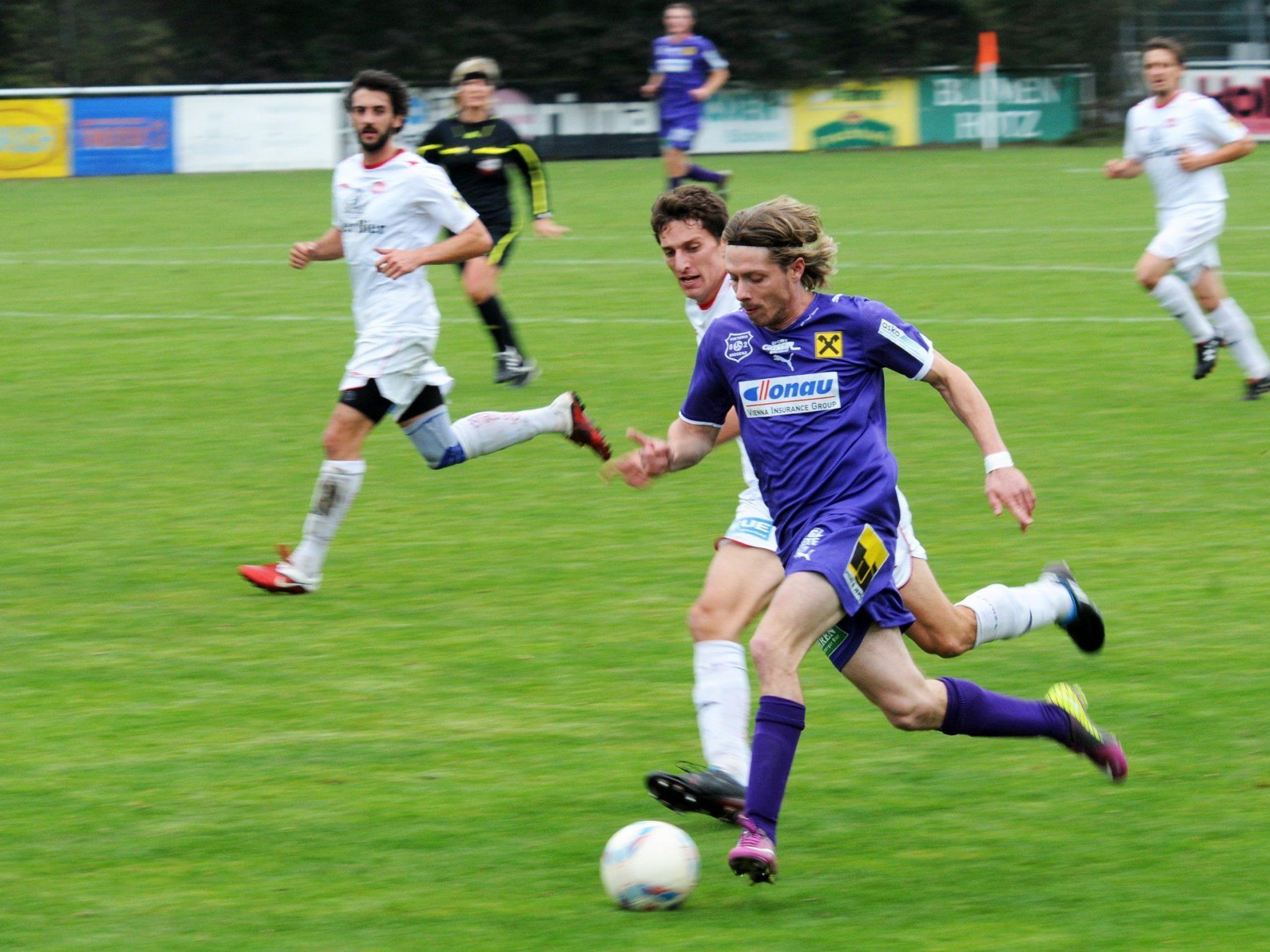Sem Kloser traf zum 1:0 für den FC Viktoria 62 Bregenz