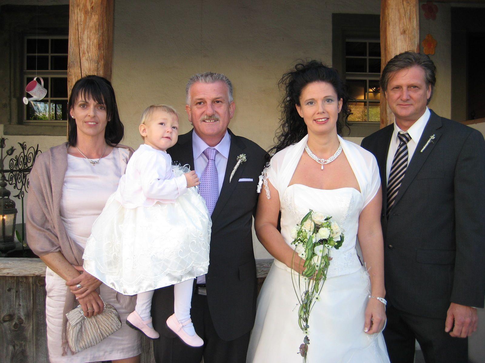 Silvia Weiler und Gerald Gimplinger haben geheiratet.