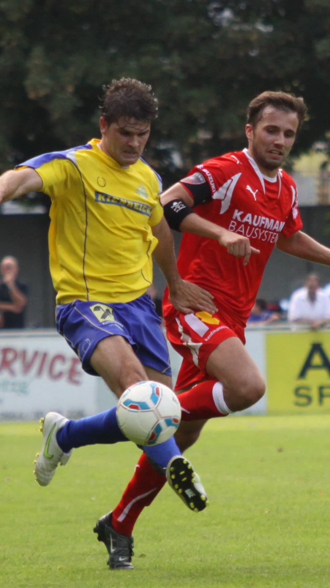 Andreas Braunagel erzielte für Wolfurt in einer Minute zwei Tore.