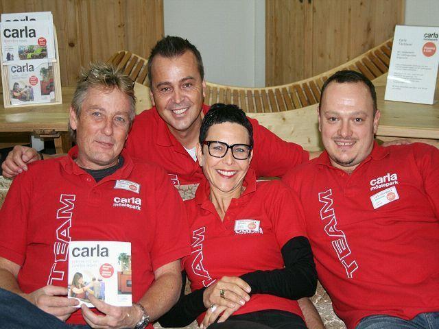 Das Carla- Team zeigt sich von größter Freude über den gut besuchten Tag der offenen Tür