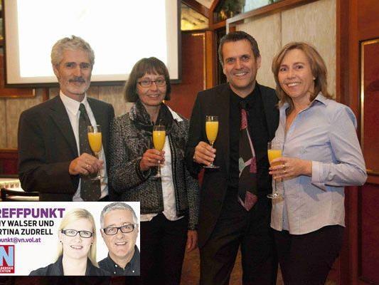 Peter Müller, Leopoldine Bertsch, Thomas Strele und Gertrude Müller