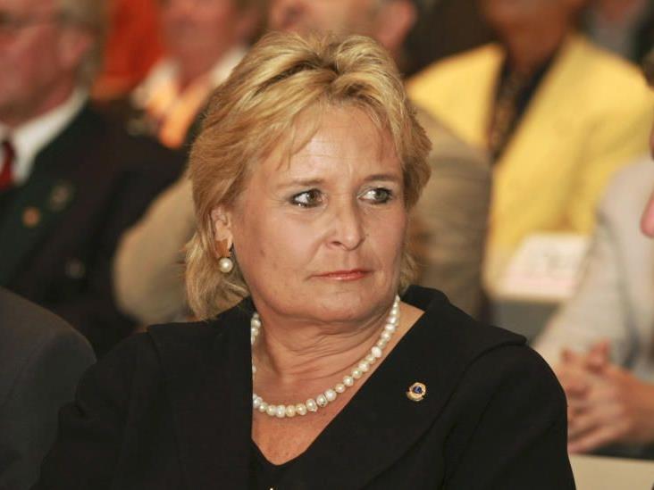 Die Ehefrau von Jörg Haider, Claudia Haider