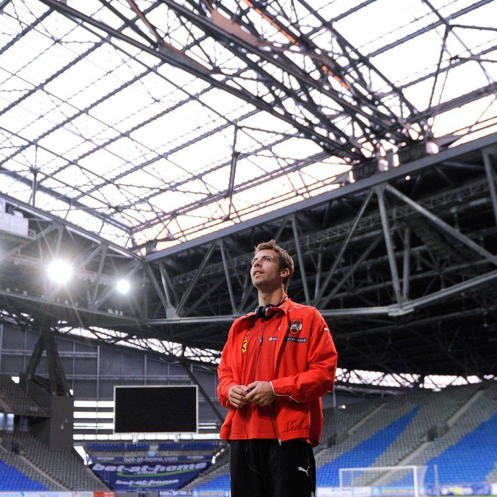 ÖFB-Teamspieler Andreas Ivanschitz war positiv angetan von der Atmosphäre im gut 30.000 Zuschauer fassenden neuen Stadion in Astana.