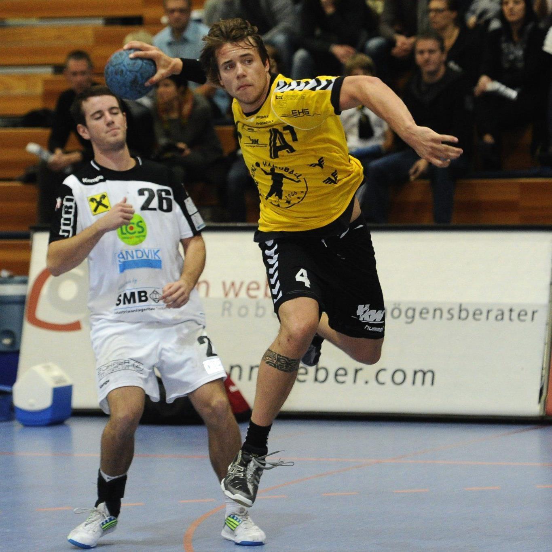 Knapper Sieg für Bregenz Handball gegen Leoben.