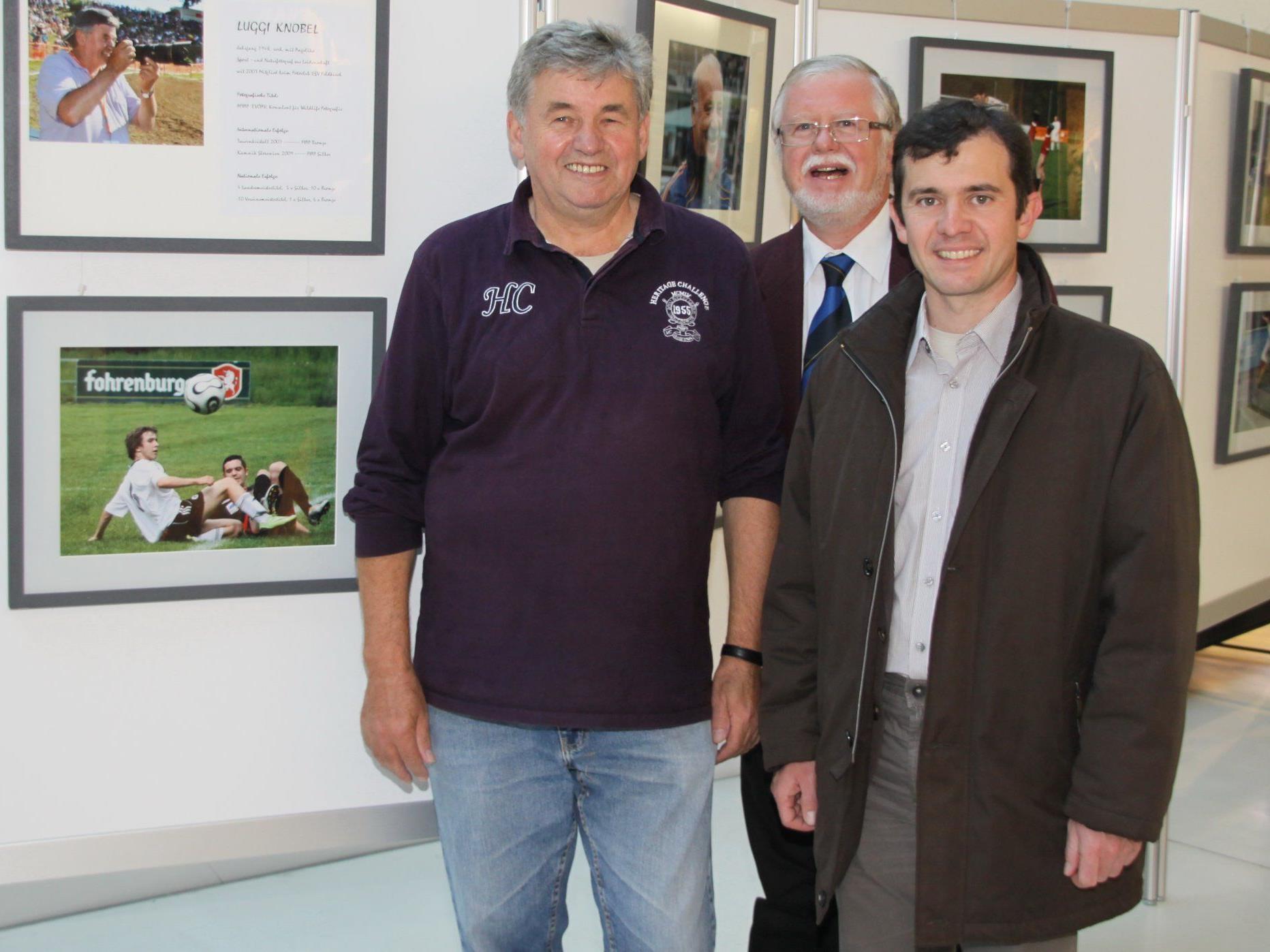Rankweils Bürgermeister Martin Summer eröffnete die Ausstellung.