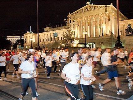 Der Vienna Night Run wird den Wiener Verkehr verzögern.