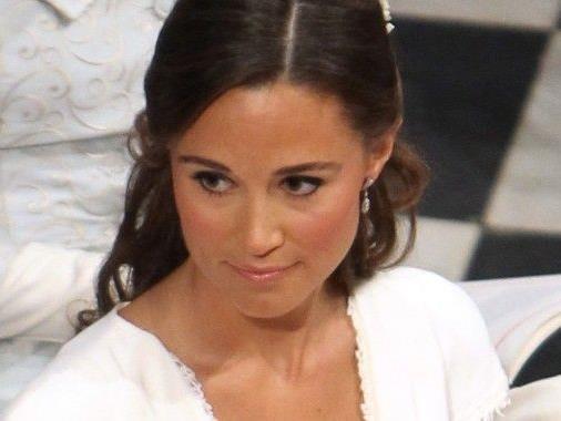 Pippa Middleton auf der Hochzeit ihrer Schwester mit Prinz Wiliam