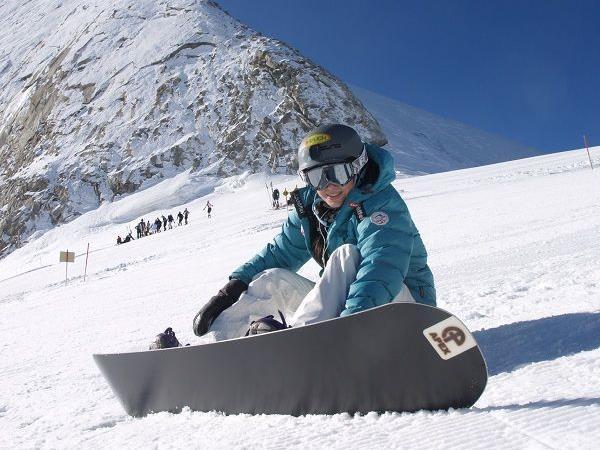 Snowboard-Ass Susi Moll ist auch dabei.