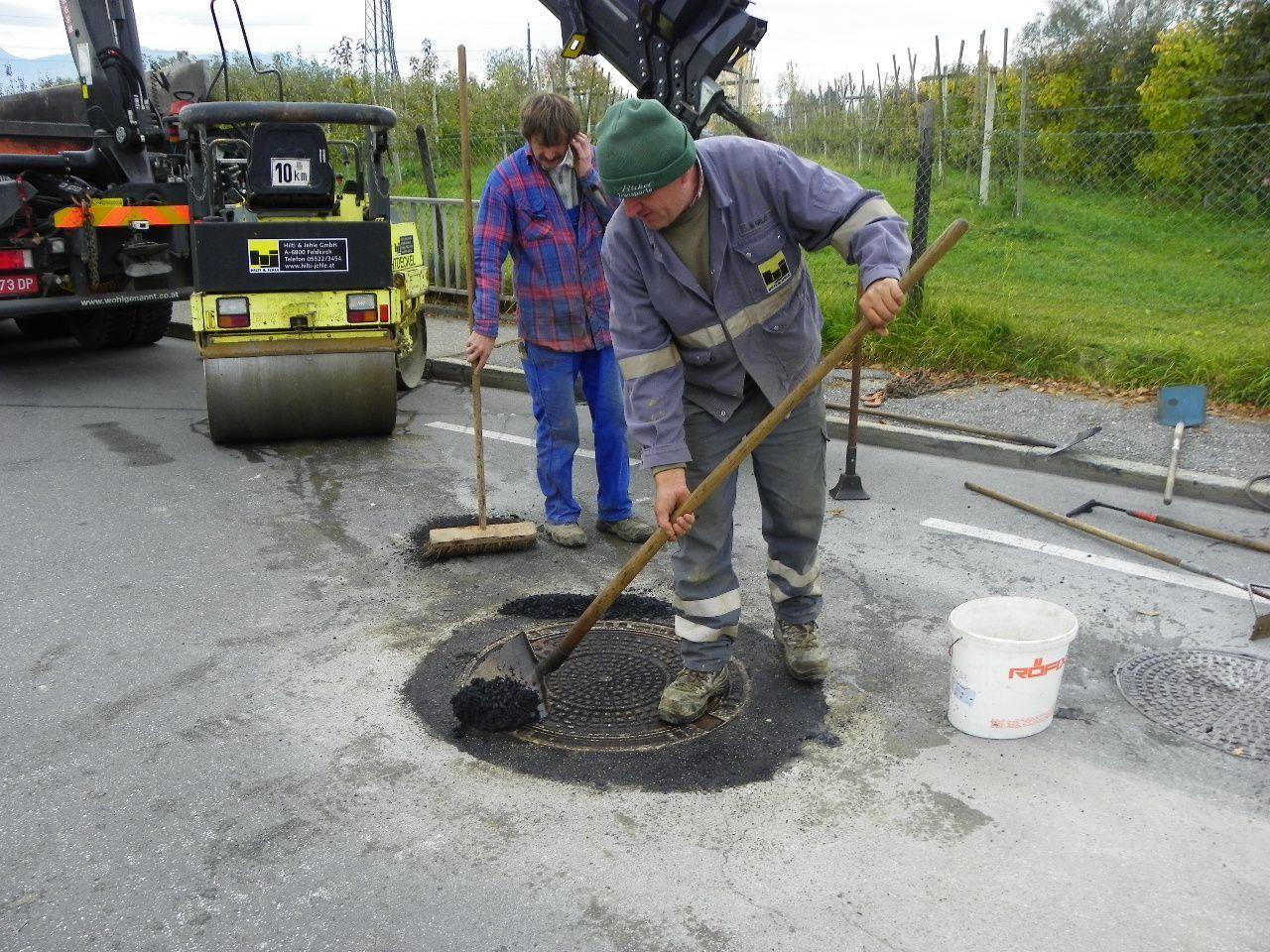 Kanalsanierung im Erlach
