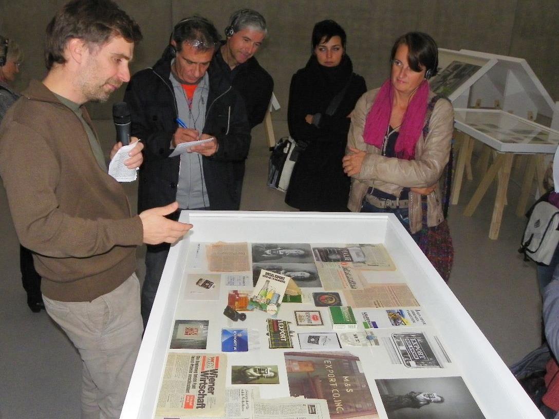 Kunsterzieher besuchten Ausstellung