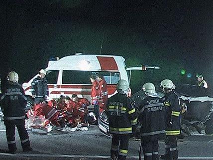 Spektakulärer Unfall im Ennstal