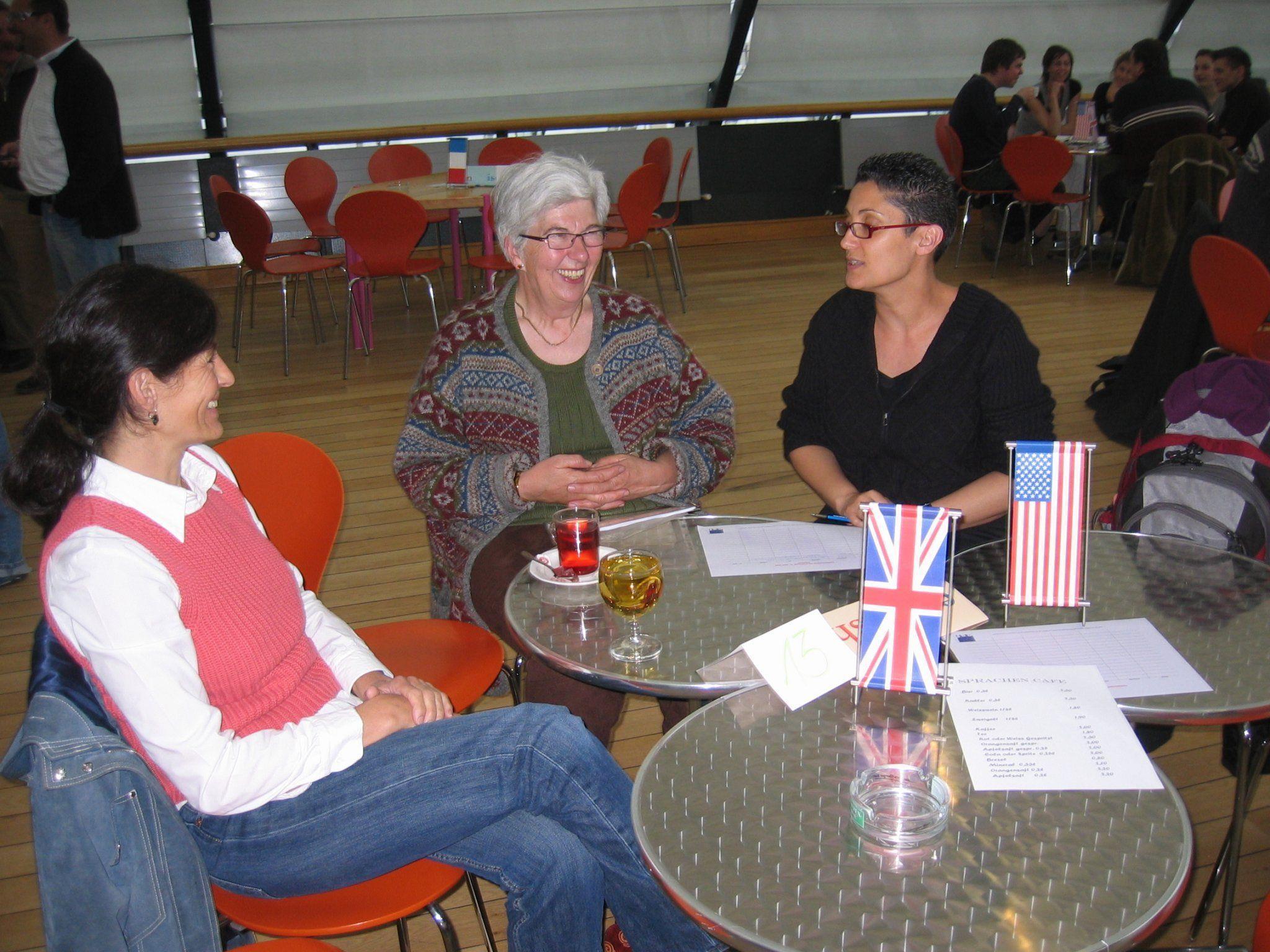 Viel Spaß und auch neue Freundschaften können beim Sprachencafé in Götzis entstehen