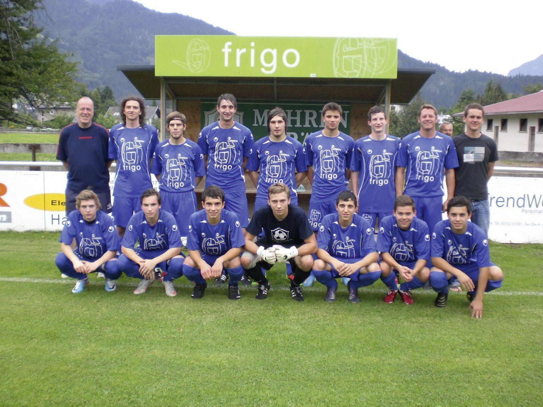 Erste Kampfmannschaft des SV frigo Ludesch