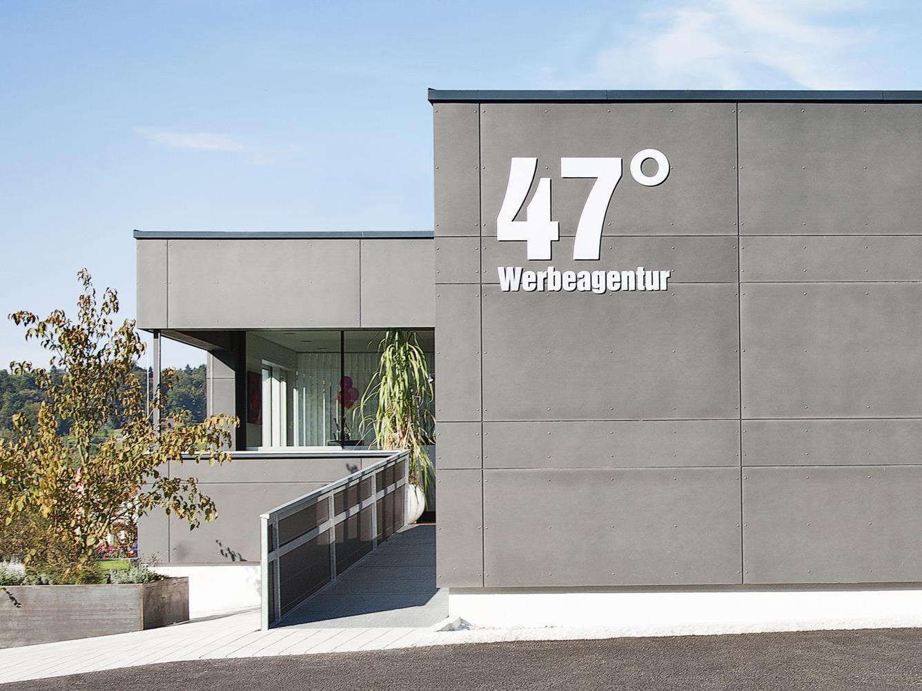 """""""Geburtsstätte"""" neuer Ideen und kreativer Projekte: 47Grad Werbeagentur."""