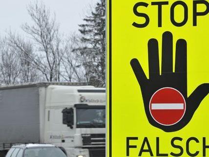 Geisterfahrer verursacht Unfall in der Steiermark