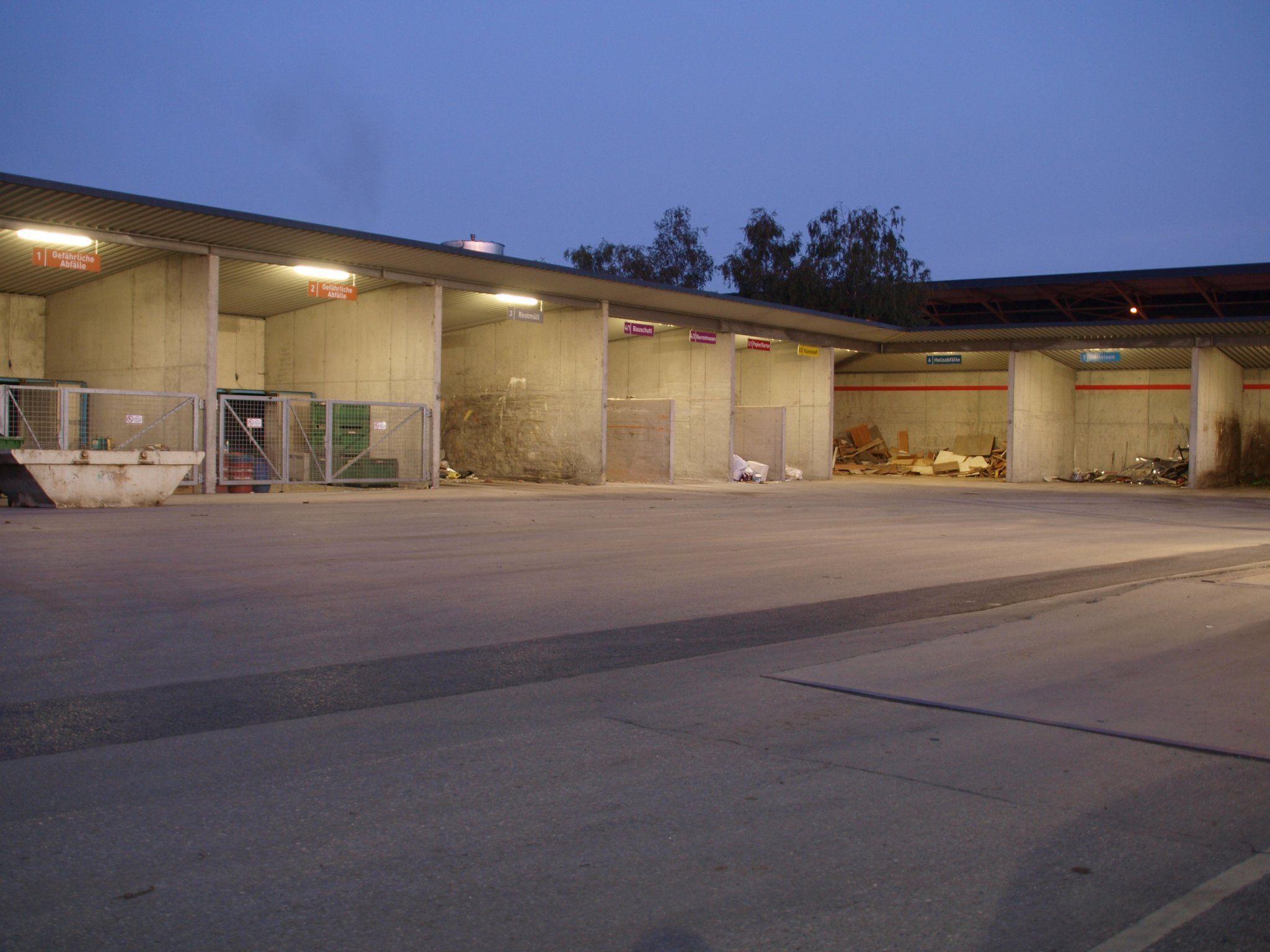 Im Bürgerforum gibt es geteilte Meinungen zum neuen Altstoffsammelzentrum.