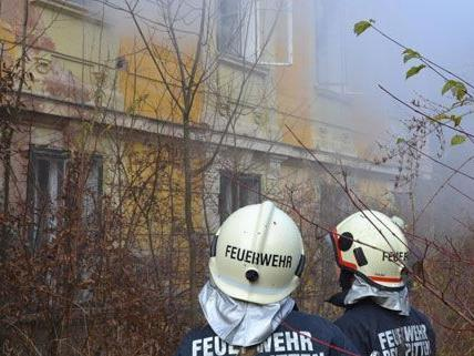 Villa in Niederösterreich brannte ab