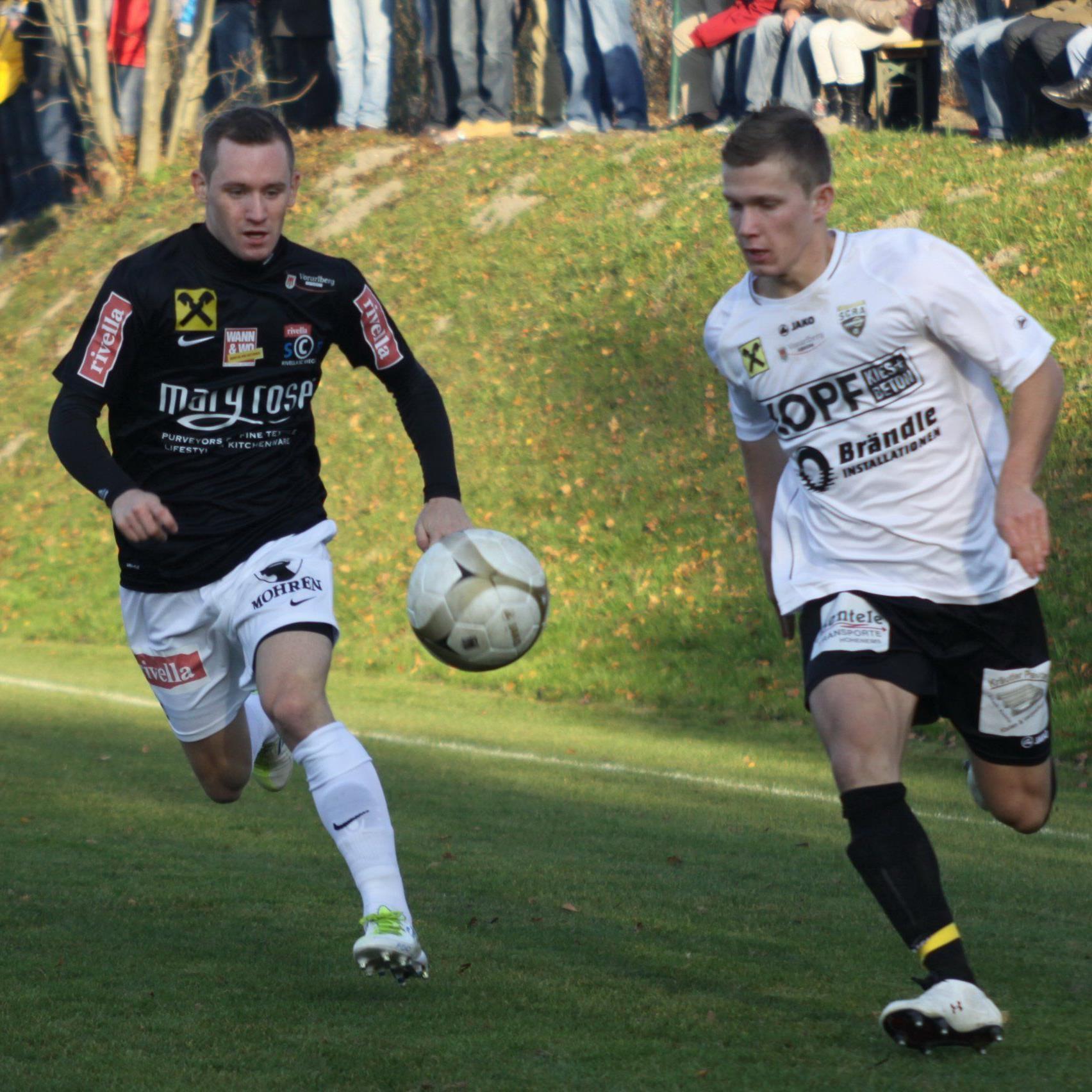 Rivella SC Bregenz will in den Profifußball.