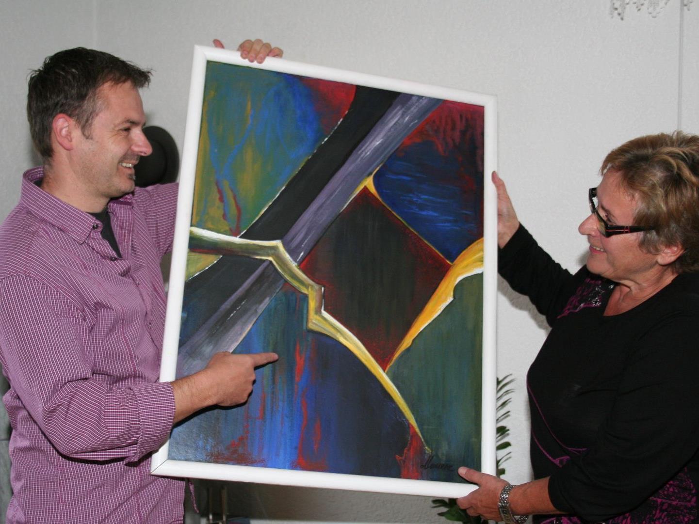 Organisationsteam: GR Walter Moosbrugger und Elfriede Maurer.