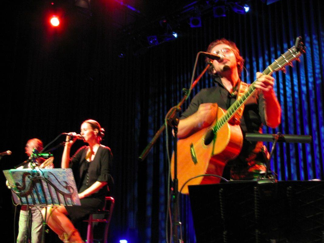 Ein Höhepunkt besonders für die Ohren waren PAPERMOON live auf der Kulturbühne