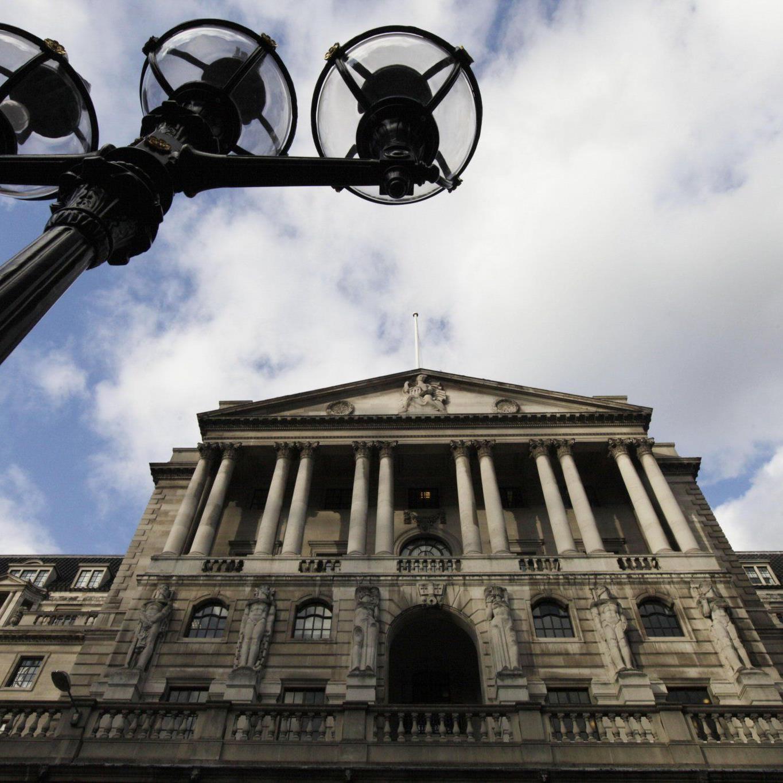 Die Bank of England rechnet mit dem Ausscheiden einiger Länder aus der Euro-Zone.