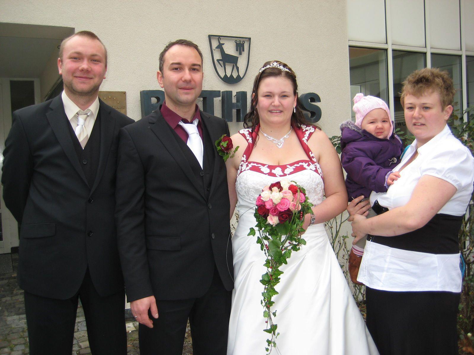 Stephanie Jahne und Marcel Großmann heirateten.
