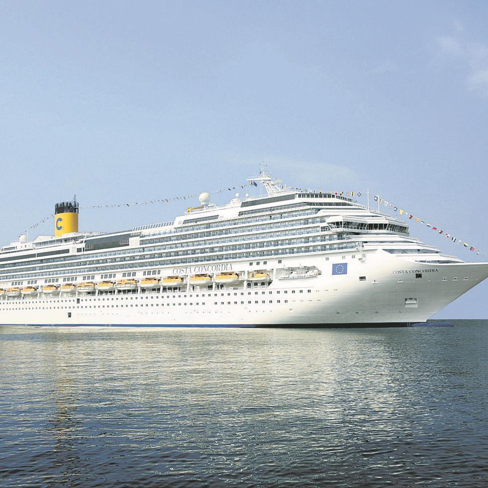 Mit der Costa Concordia ins westliche Mittelmeer