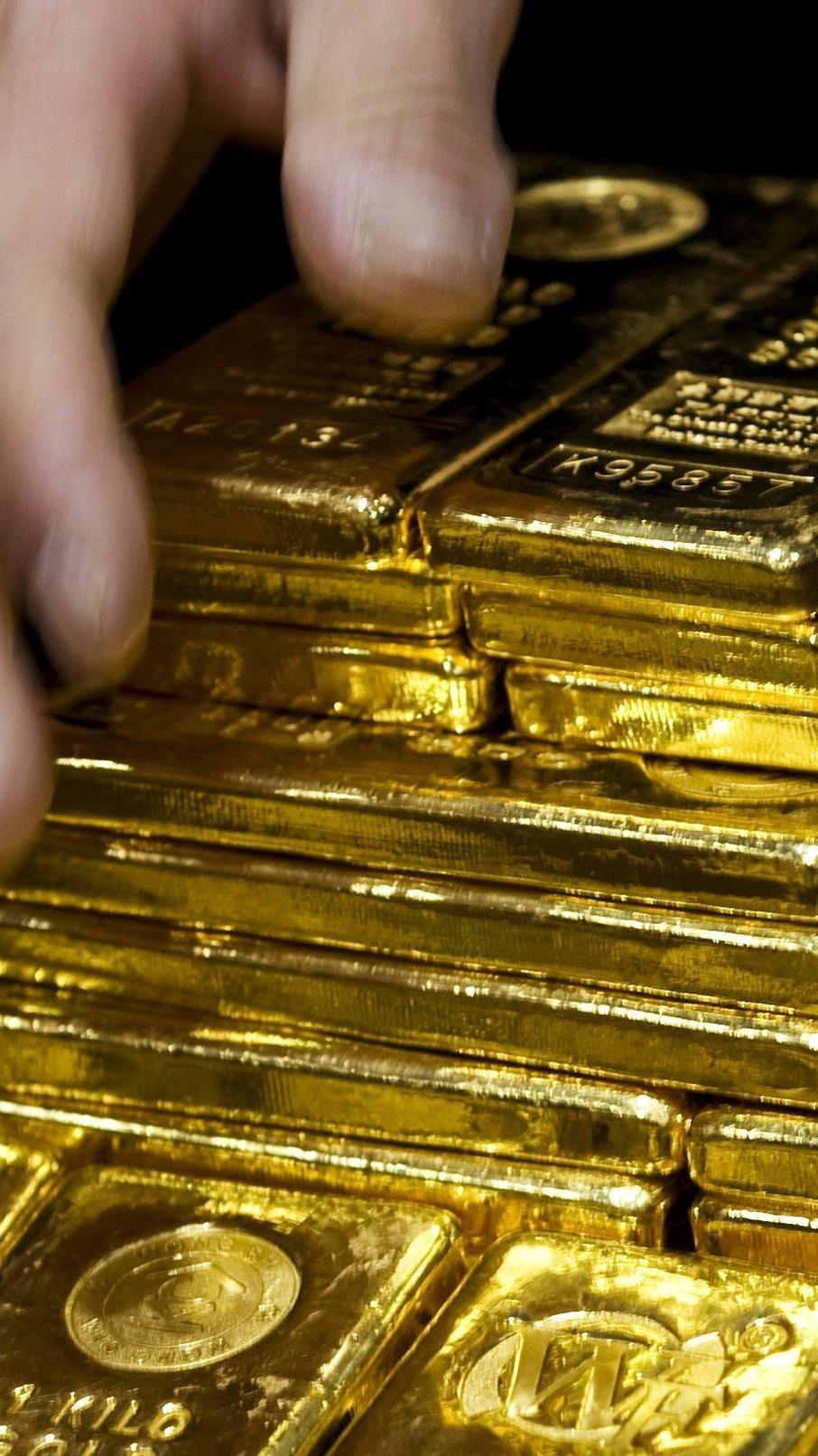 Zentralbanken häufen offenbar Gold an