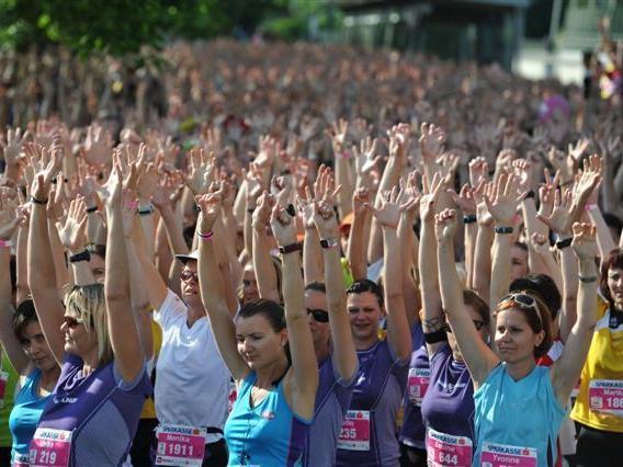 Kick-off für den Bodensee Frauenlauf am Freitag in Dornbirn.