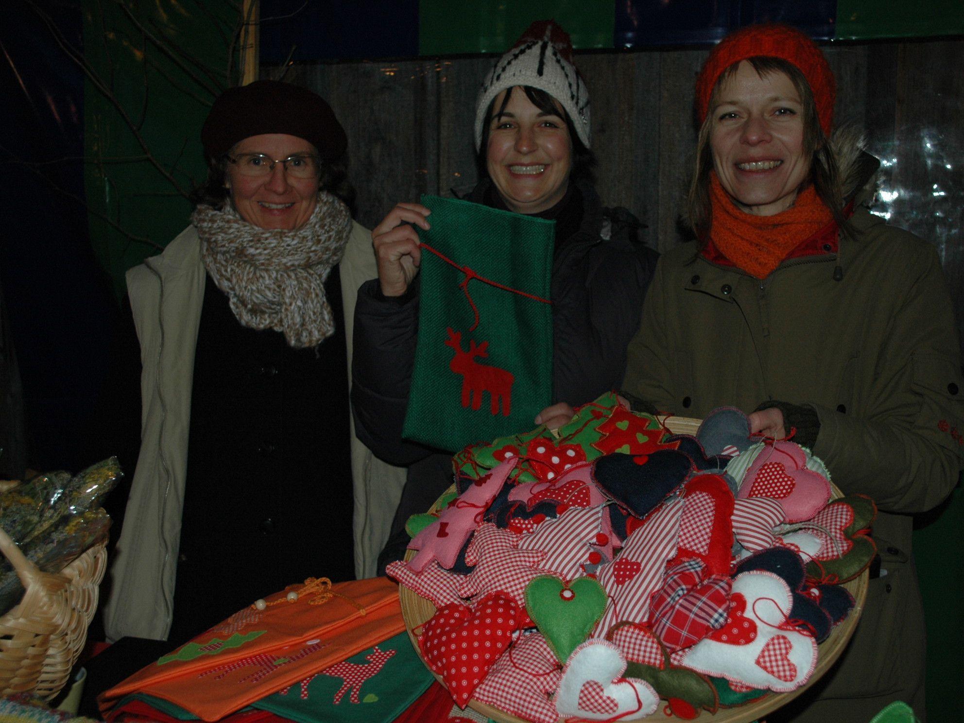 Auch dieses Jahr wird es beim Götzner Weihnachtsmarkt viel Selbstgemachtes geben