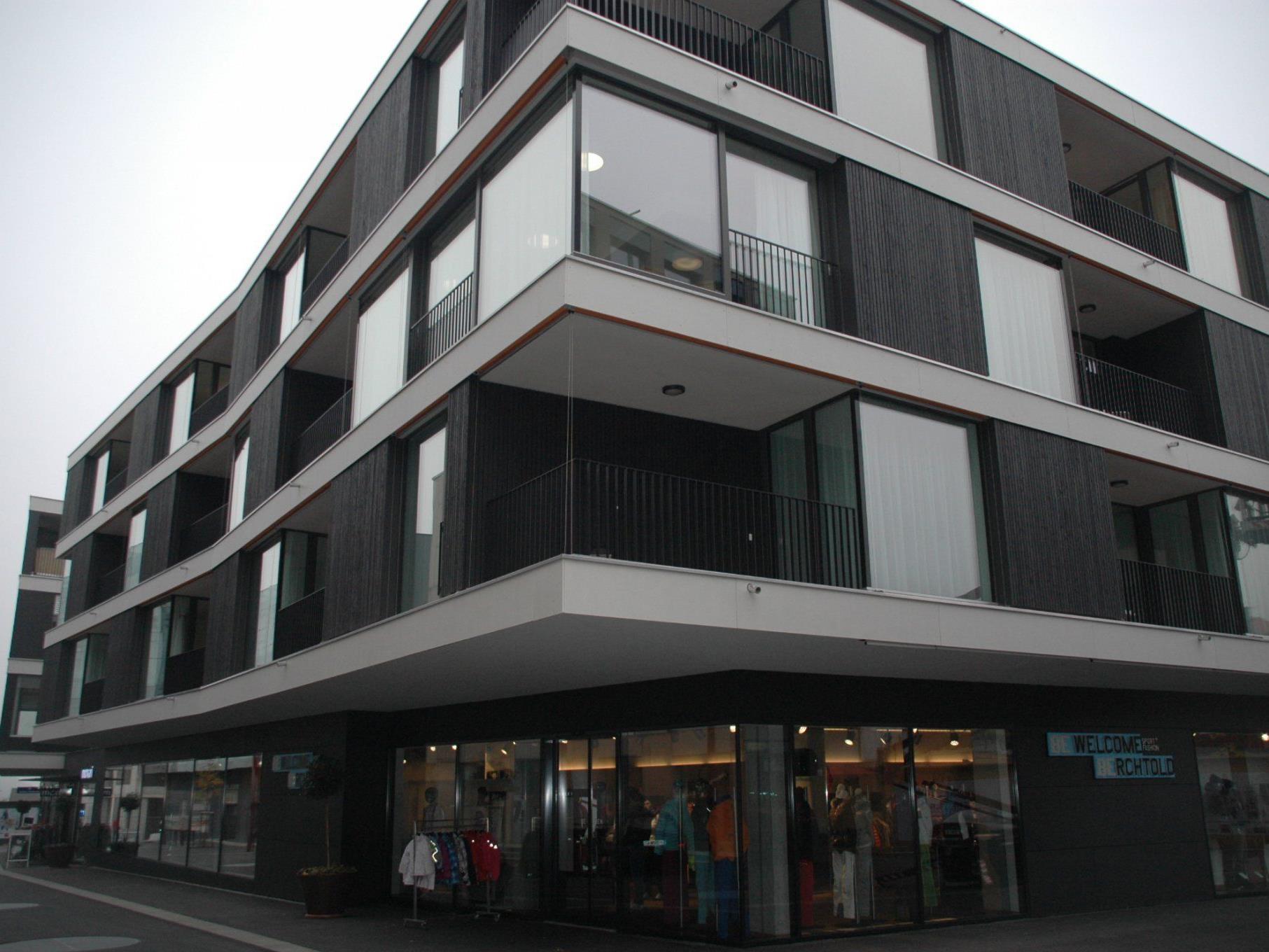 In der neuen Anlage Am Garnmarkt sind eine Wohngemeinschaft und betreutes Wohnen untergebracht.