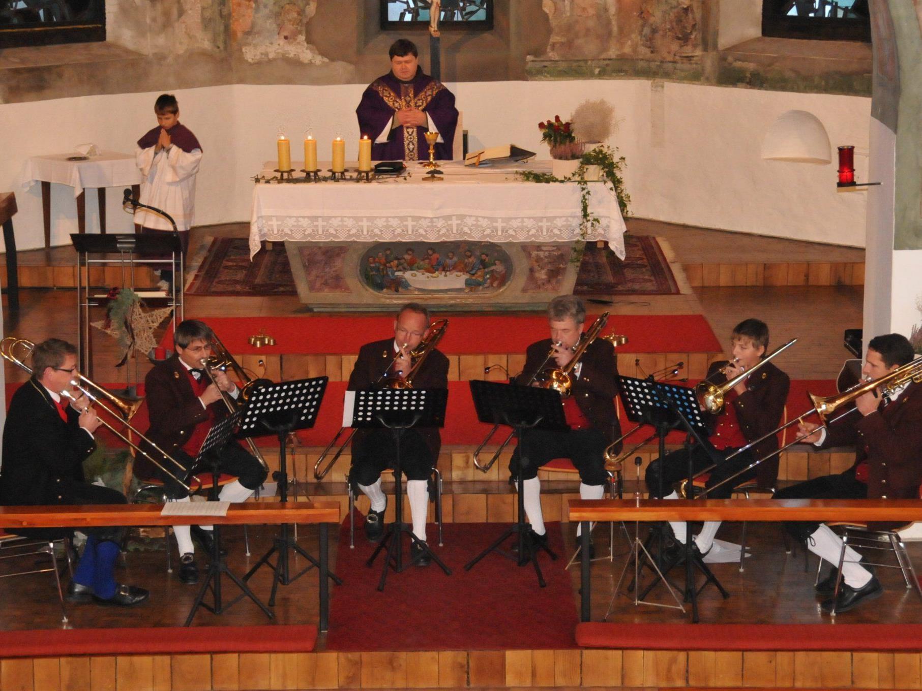 Posaunenregister Musikverein Reuthe