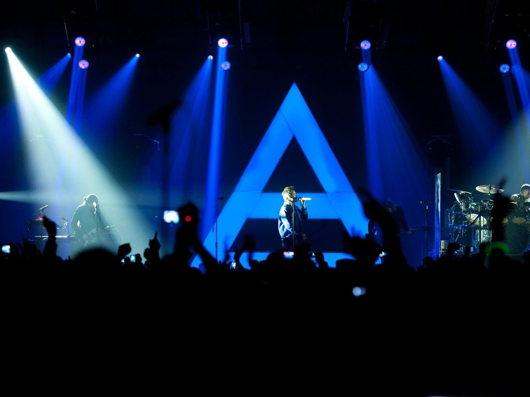 Thirty Seconds To Mars spielten am Freitag in Hohenems