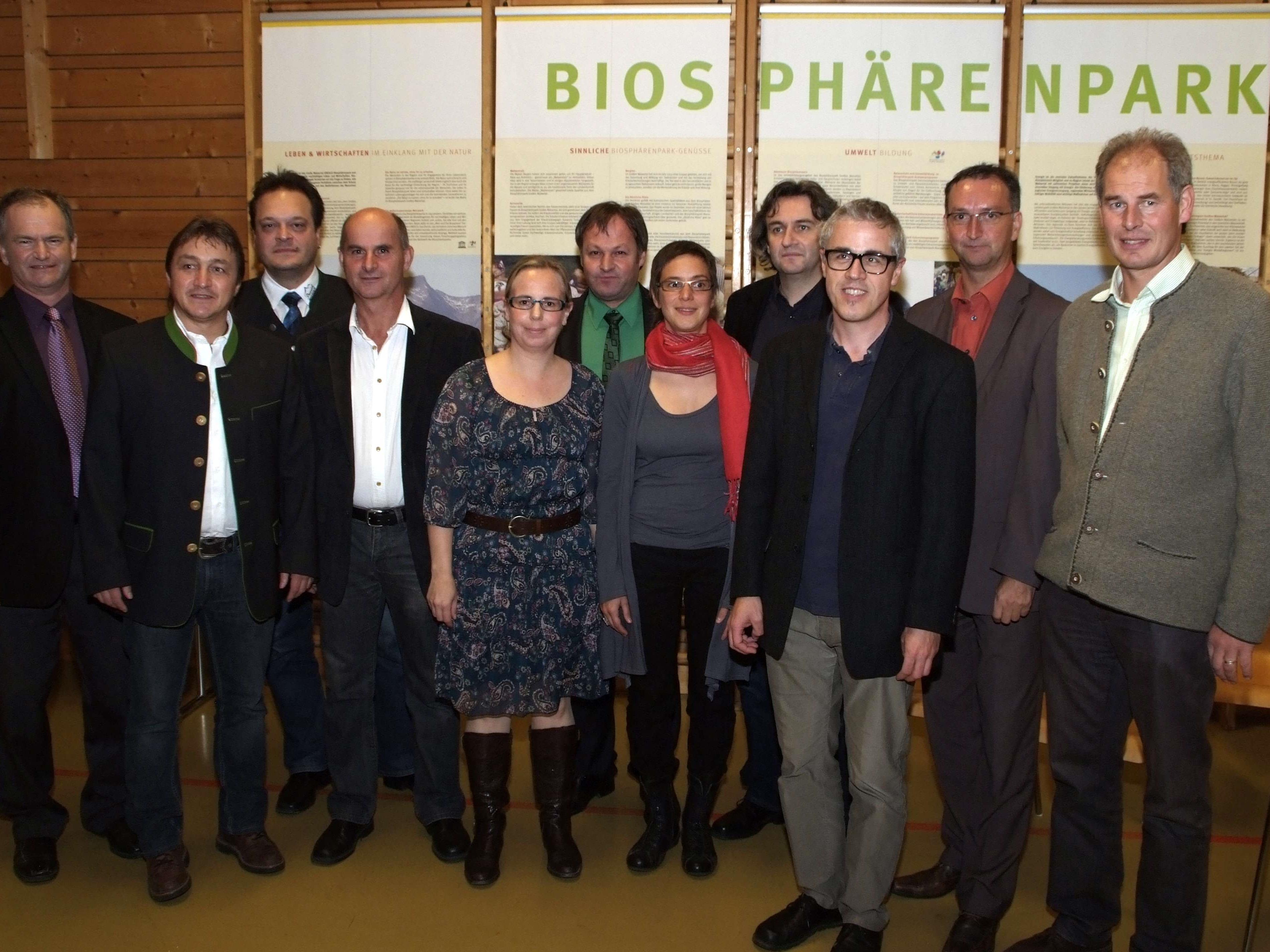 "Die Großwalsertaler sahen in die ""Biosphärenpark-Zukunft""."