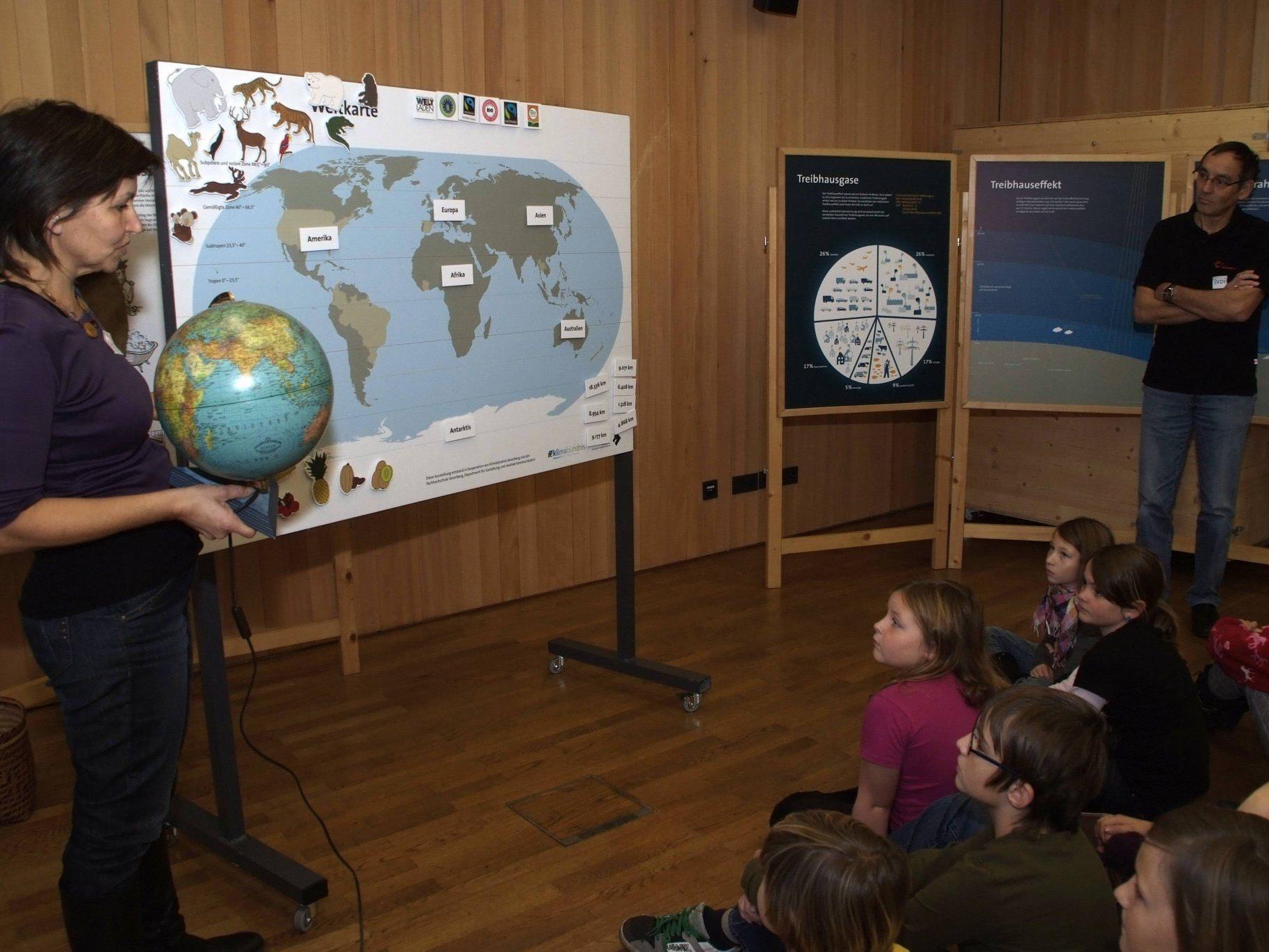 Die Ludescher Musik-Volksschüler zeigten sich auch für Umweltfragen sensibilisiert.