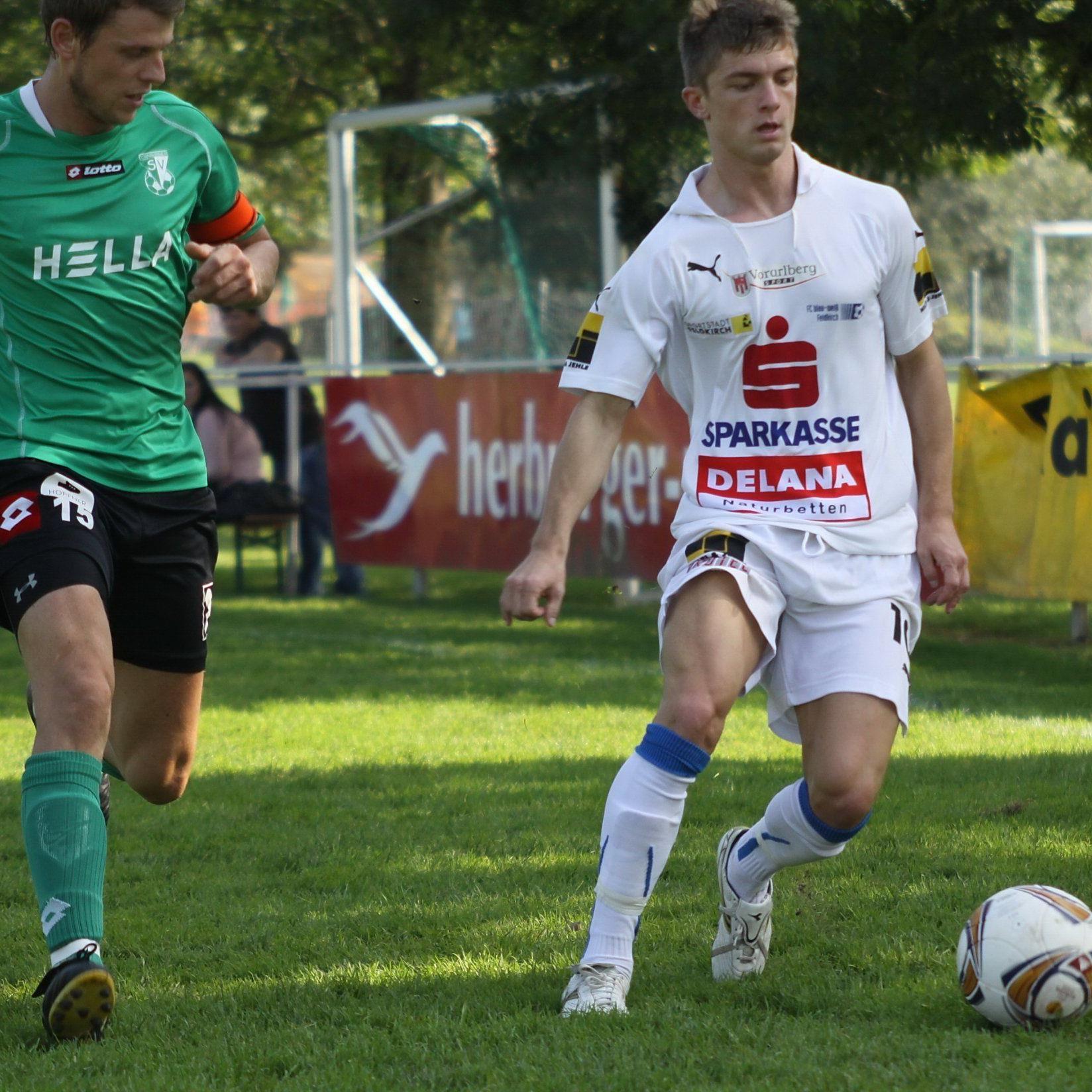 Franco Joppi könnte bald in Bregenz kicken.