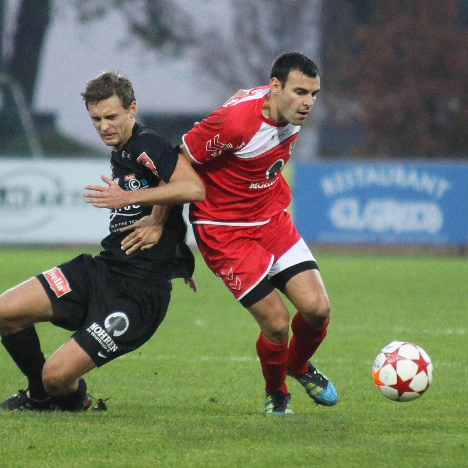 Dornbirn spielt am 11. Februar gegen Bregenz.