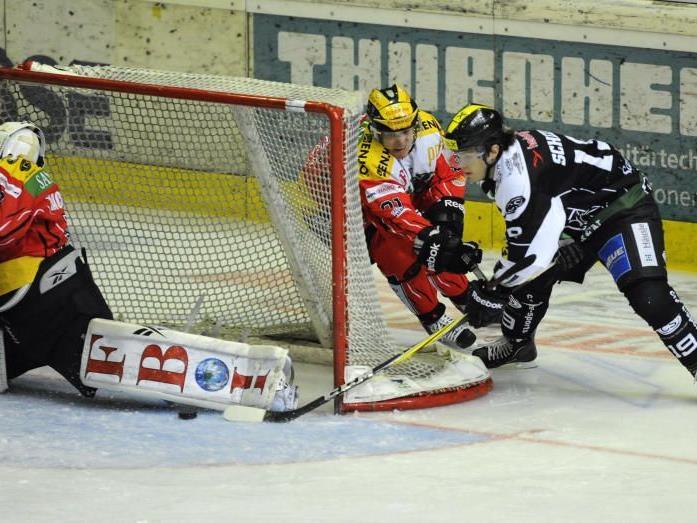 Die Cracks sorgten erneut für spannende 60 Eishockey-Minuten