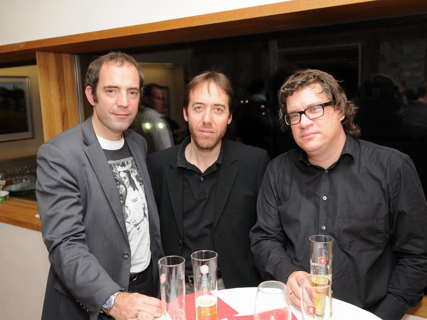 Kultur-, Tourismus- und Marketing-Experten an einem Tisch: Edgar Eller, Dietmar Nussbaumer und Dieter Heidegger.