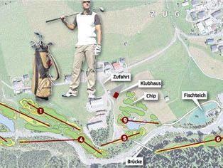 Baupläne für einen neuen Golfplatz in Zug bei Lech sind Verfahrensgegenstand.