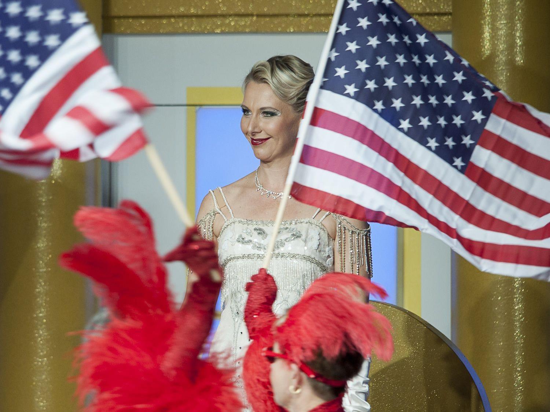Die Herzogin von Chicago begeistert die Operettenfans in der Blumenegghalle.
