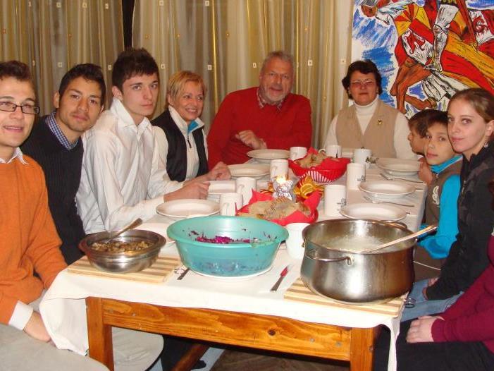"""Jose & Doris Oberhauser waren im """"Haus St. Josif"""" herzlich willkommen"""