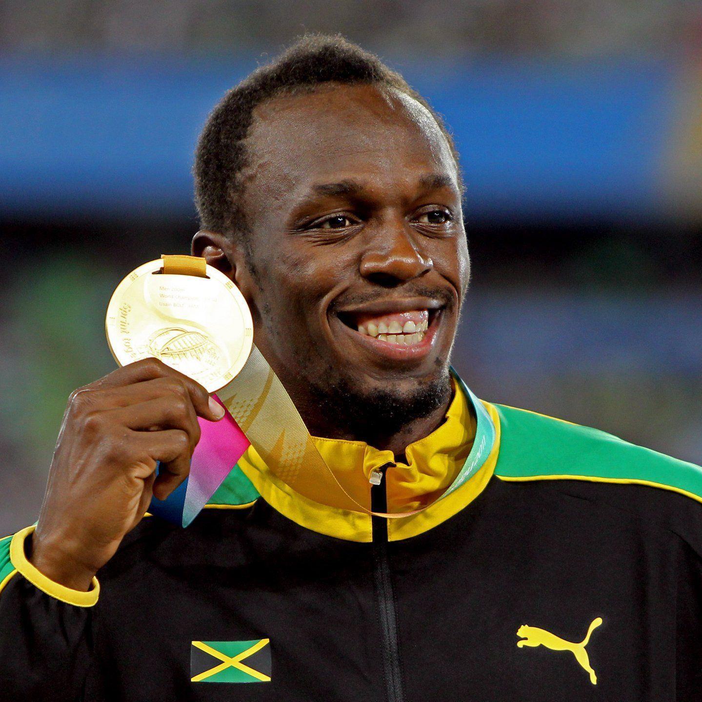 Usain Bolt will sich vier Goldmedaillien bei einer Olympiateilnahme holen.