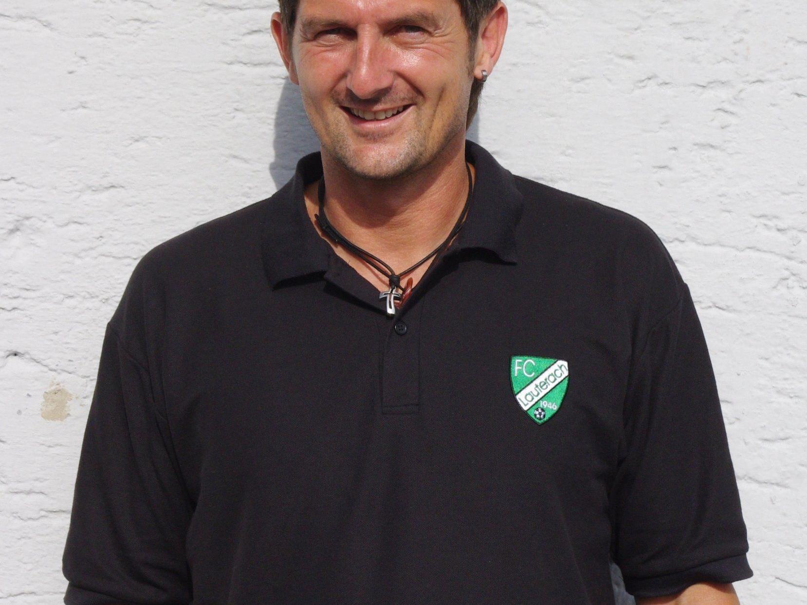 Klaus Unterkircher - Erfolgstrainer vom Schertler-Alge FC Lauterach