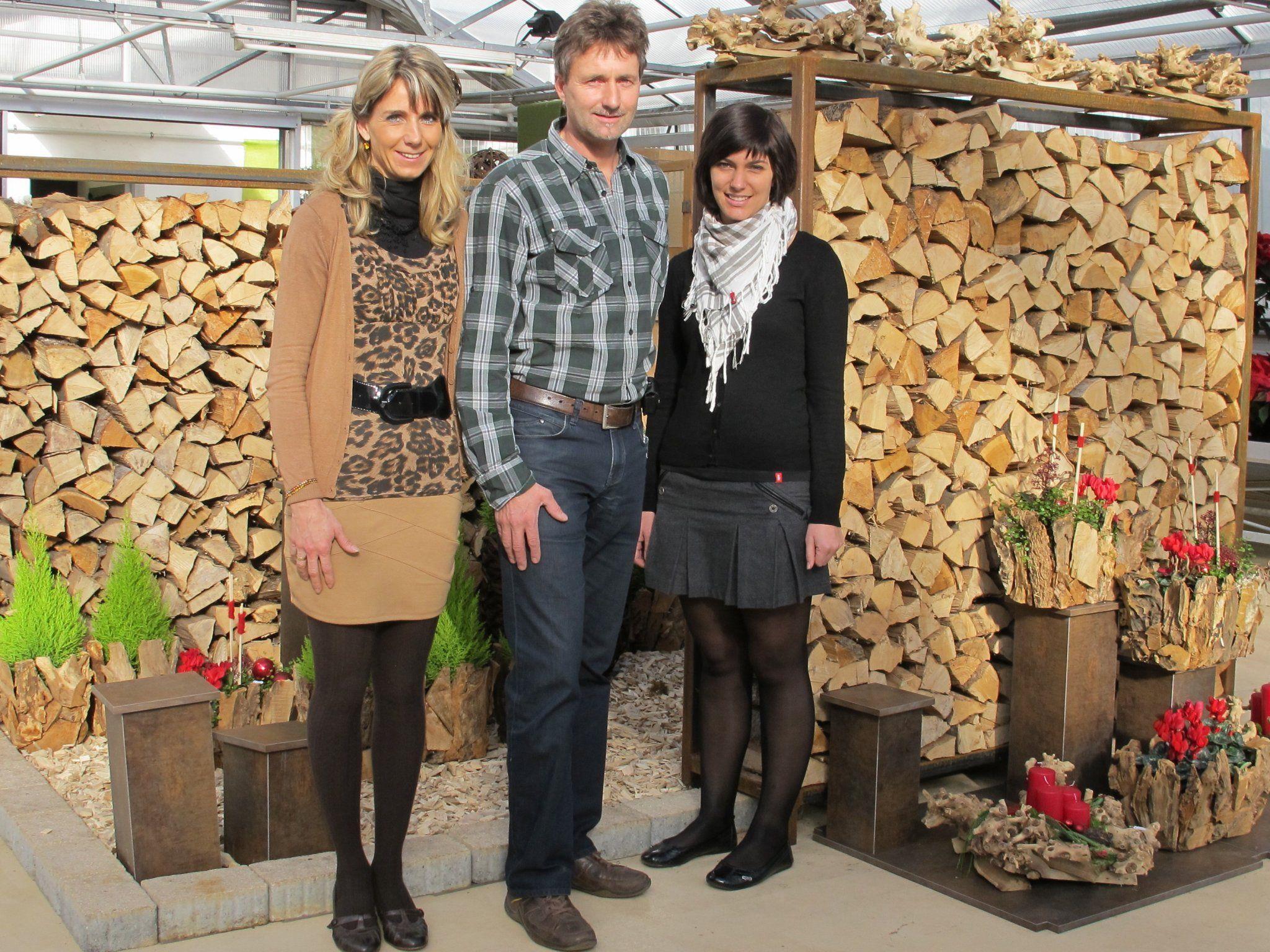 Veronika, Stefan und Isabelle freuten sich sehr über die gelungene Ausstellung