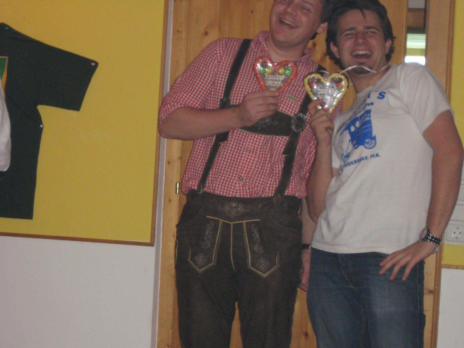 Die Sieger Manuel und Matthias