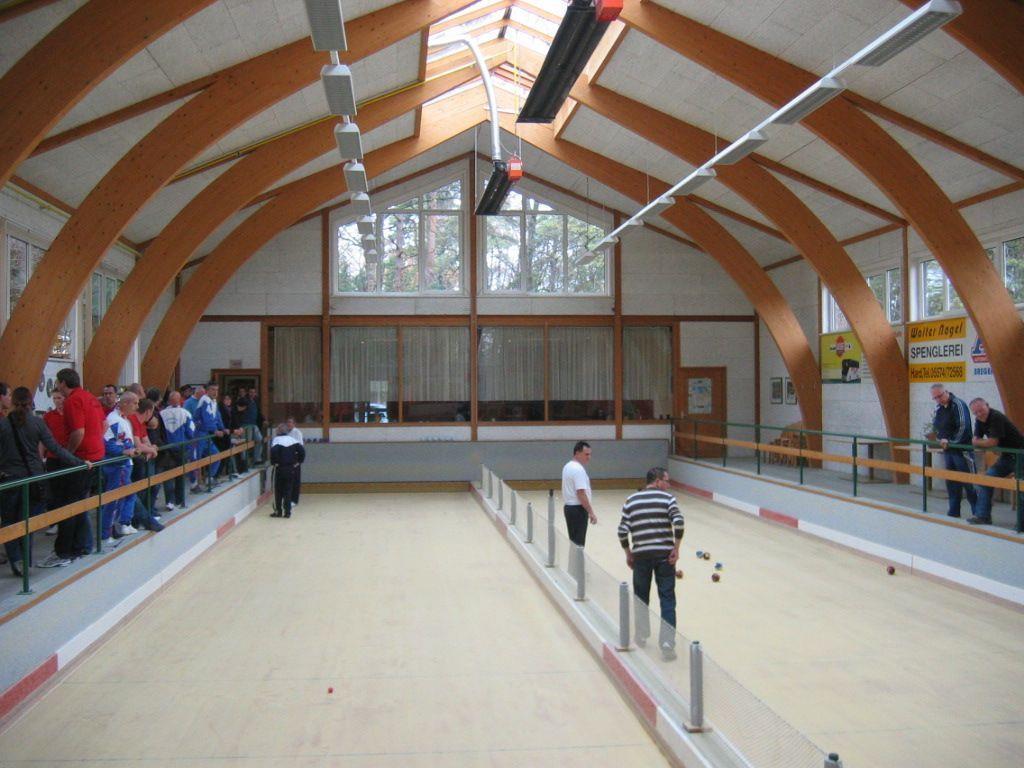 Turnier in der Harder Boccia Halle