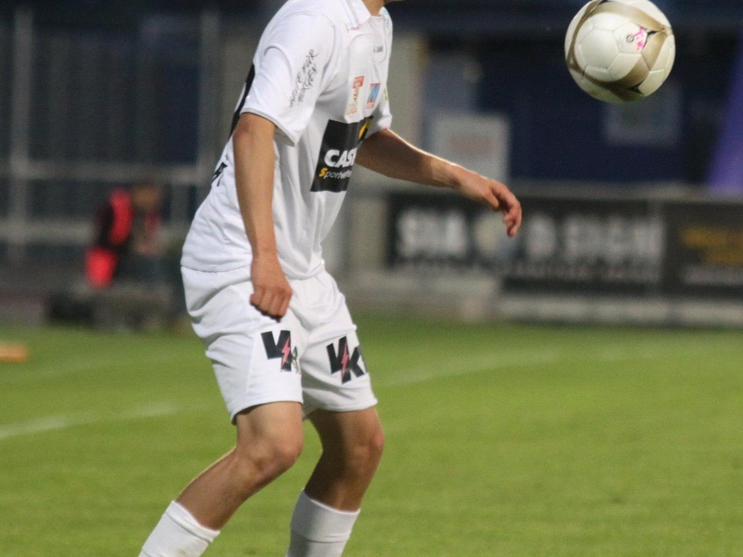 Julian Erhart schoss zwei Tore in Seekirchen.